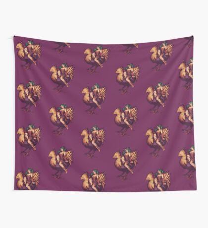 Mog's Chocobo Riding Club Wall Tapestry