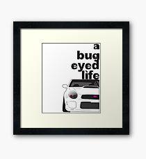Subaru Bug Eyed life Framed Print