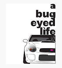 Subaru Bug Eyed life Photographic Print