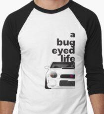 Subaru Bug Eyed life Baseball ¾ Sleeve T-Shirt