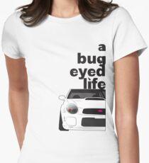 Subaru Bug Eyed life Fitted T-Shirt