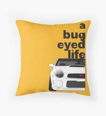 Subaru Bug Eyed life Throw Pillow
