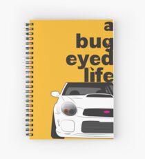 Subaru Bug Eyed life Spiral Notebook