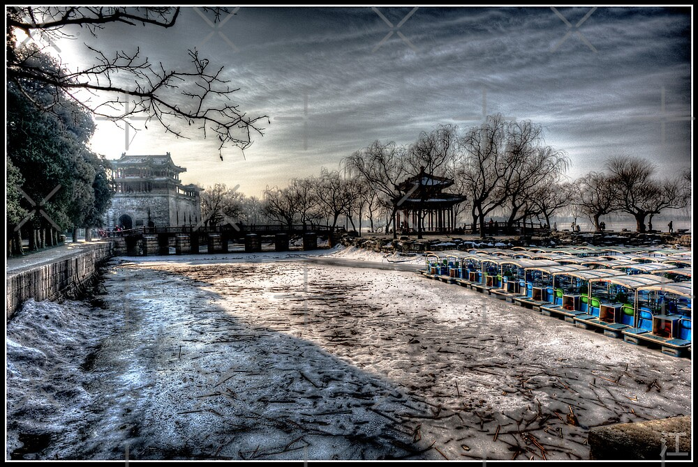 The Frozen Summer Palace by Psycoticduck