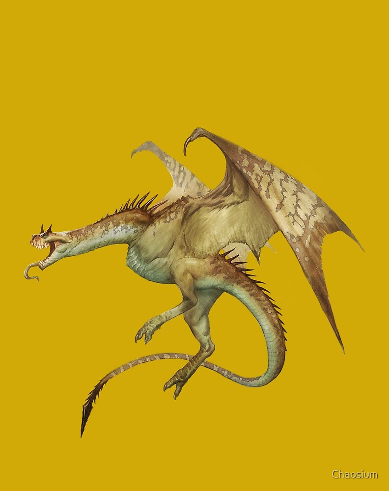 Wyvern by Cory Trego-Erdner by Chaosium
