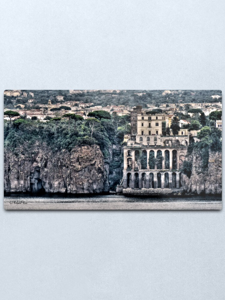 Alternate view of Old Sorrento Metal Print