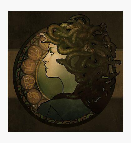 Medusa Nouveau Photographic Print