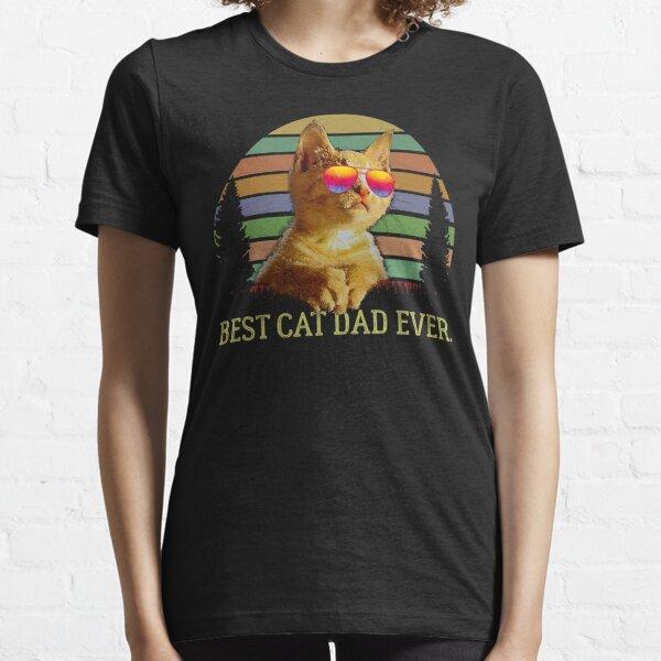 Best Cat Dad Ever Essential T-Shirt