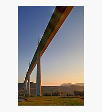 Under the Bridge at Dawn Photographic Print