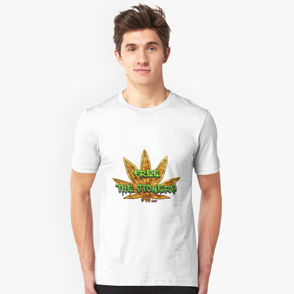 Free the stoners Unisex T-Shirt Front