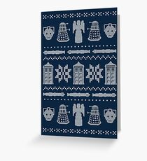 Who's Sweater Greeting Card