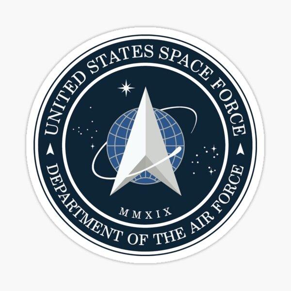 SPACE FORCE LOGO Sticker