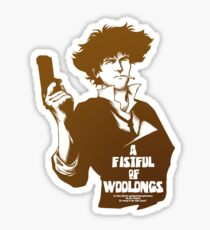 A Fistful of Woolongs Sticker