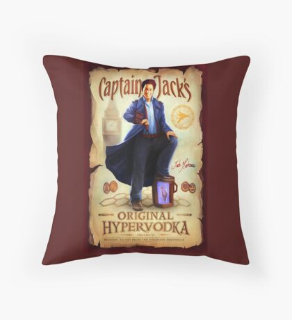 Original Hypervodka Throw Pillow