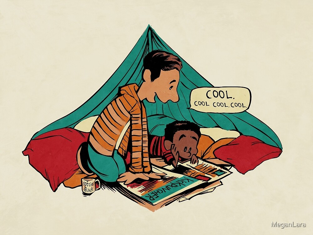 Troy and Abed's Dope Adventures by MeganLara