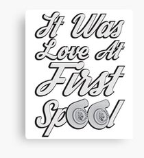 Love at first Spool Canvas Print