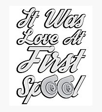Love at first Spool Photographic Print