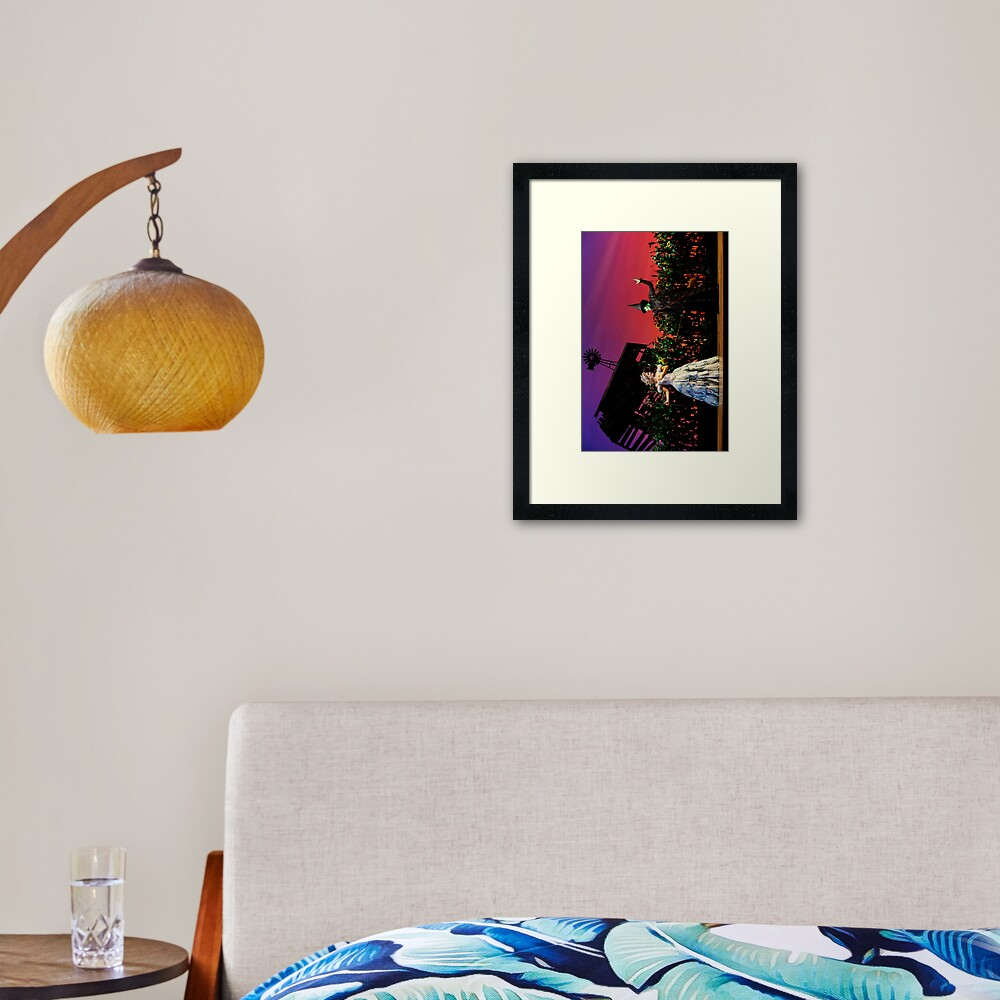 Jemma Rix and Lucy Durack in Wicked Framed Art Print