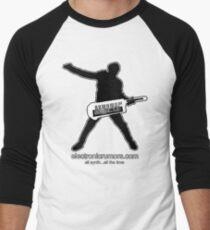 Electronic Rumors:  Keytar Axe-Man, All Synth...All The Time Men's Baseball ¾ T-Shirt
