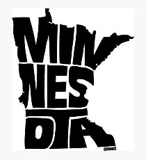 Minnesota Photographic Print