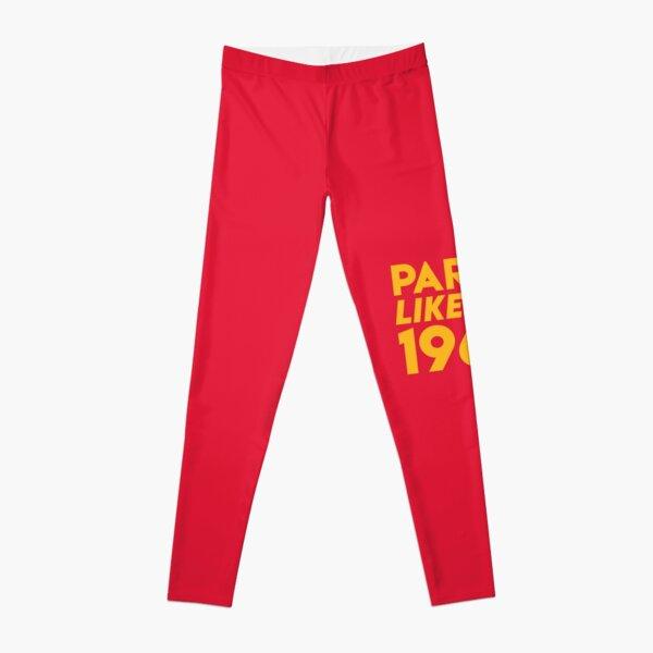 KC Kansas City 2020 Party Like It's 1969 KC Fan Arrowhead Red Kingdom T-Shirt Leggings