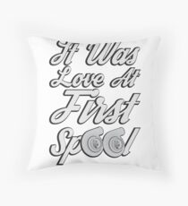 Love at first Spool Throw Pillow