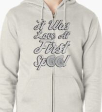 Love at first Spool Zipped Hoodie