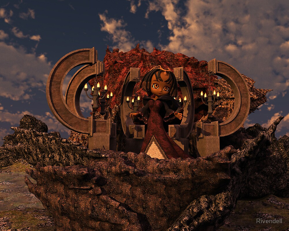 Cio the Sorceress by Rivendell