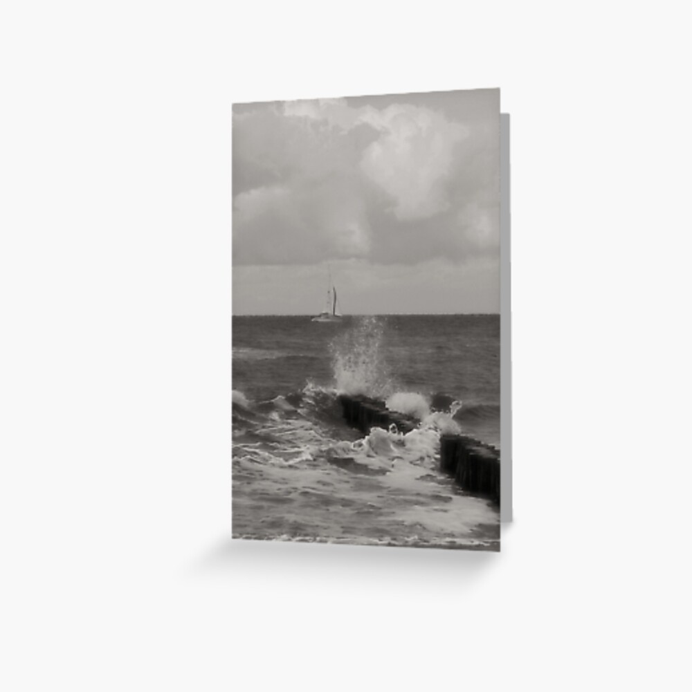 Sailing the Baltic Sea Greeting Card