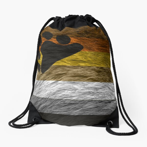 Bear Pride Drawstring Bag
