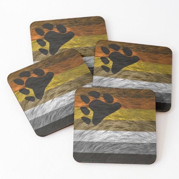 Bear Pride Coasters (Set of 4)