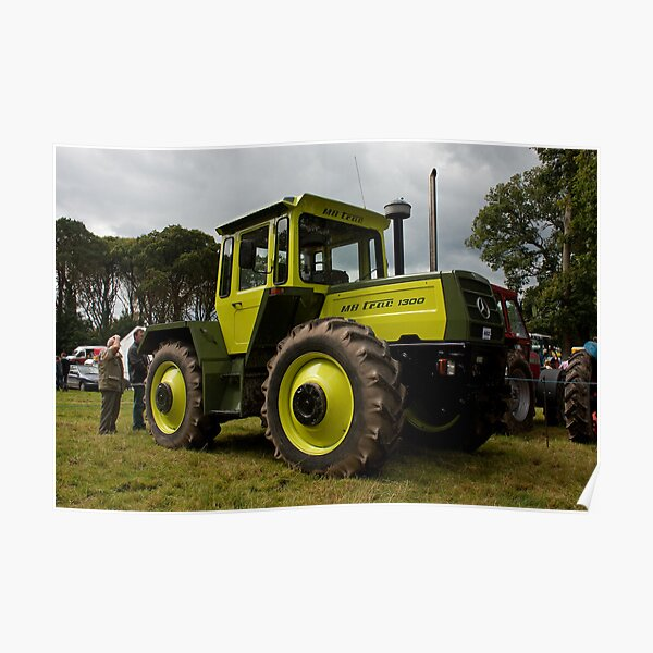 The MB-trac1300 tractor Poster