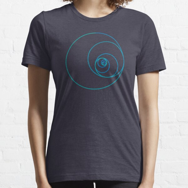 Two Golden Ratio Spirals Essential T-Shirt
