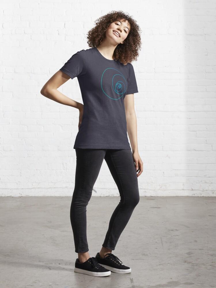 Alternate view of Two Golden Ratio Spirals Essential T-Shirt