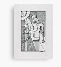 sculptures Canvas Print
