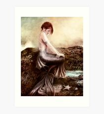 Sea Faerie Art Print