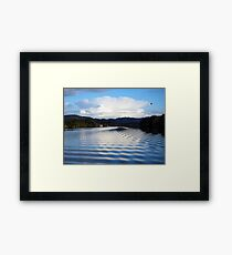 Ripple Affect  Framed Print