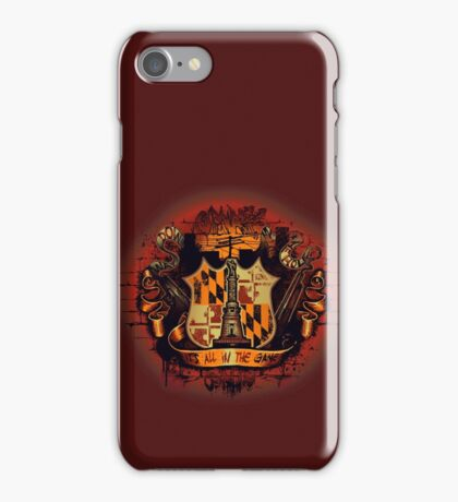It's All in the Game iPhone Case/Skin
