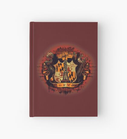 It's All in the Game Hardcover Journal