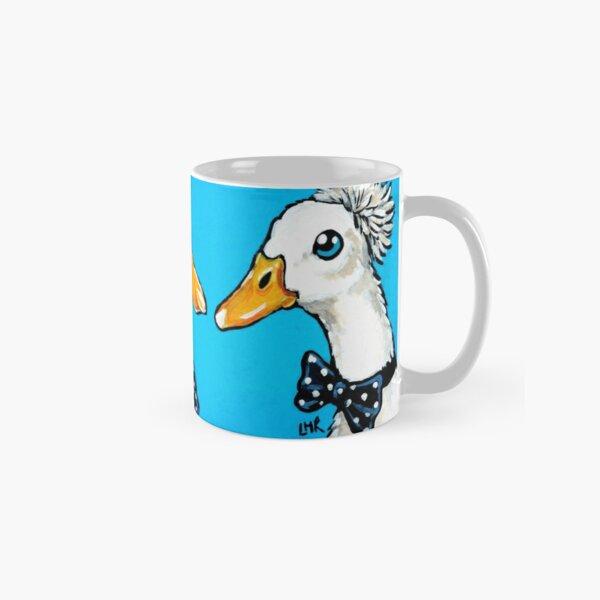A Trio of Dapper White Ducks Classic Mug
