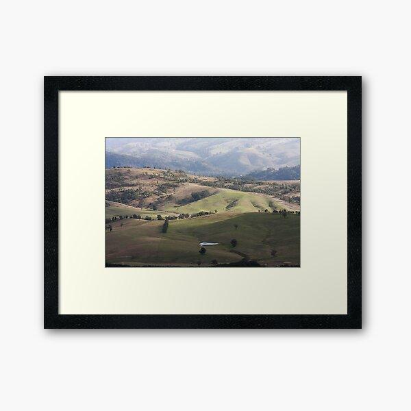 Kanimbla Hills Framed Art Print