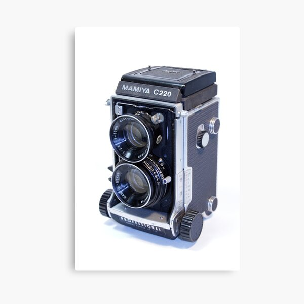 Mamiya C220 TLR Camera Canvas Print