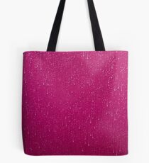 Textures - A leaf and rain on a marquee Tote Bag