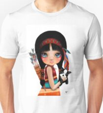 Native Girl Unisex T-Shirt