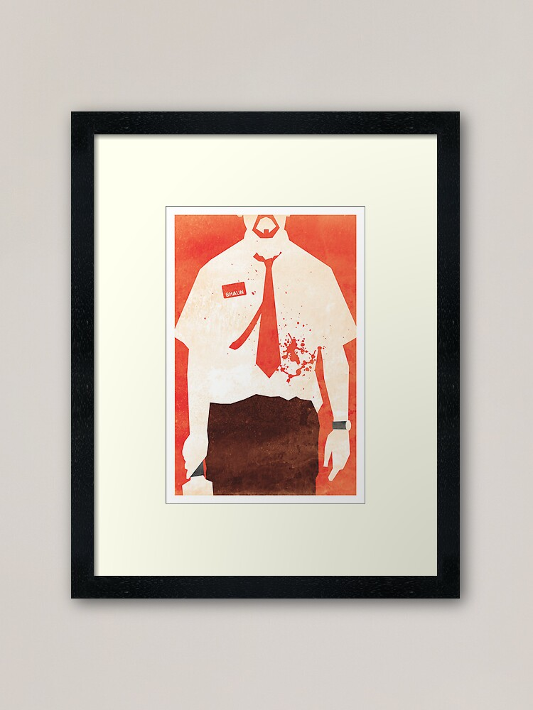 Alternate view of You've Got Red On You Framed Art Print