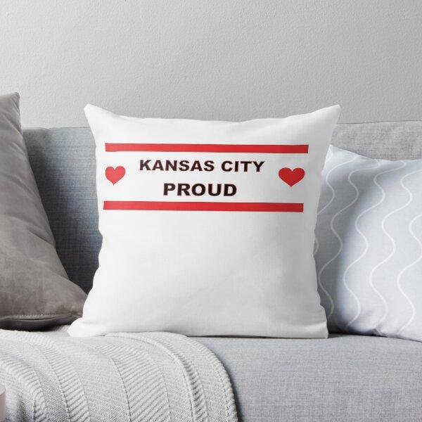 Kansas City Proud Missouri Love Throw Pillow