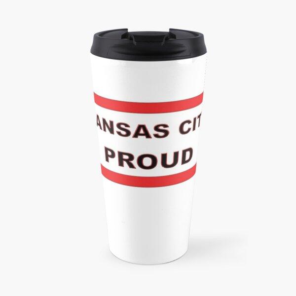 Kansas City Proud Missouri Love Travel Mug