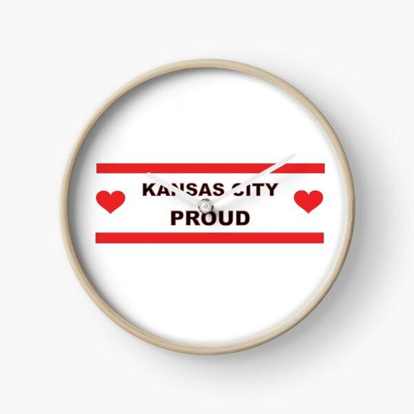 Kansas City Proud Missouri Love Clock