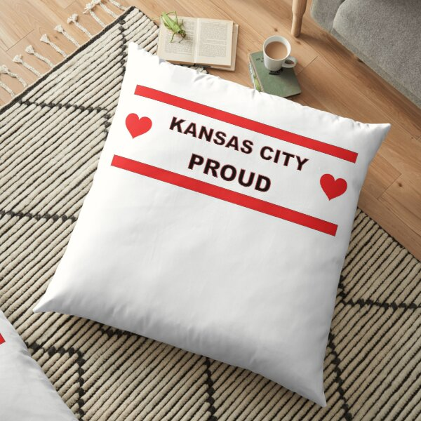 Kansas City Proud Missouri Love Floor Pillow