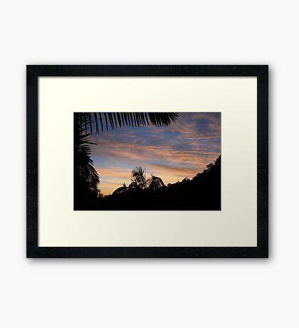 Dawn in July Framed Print